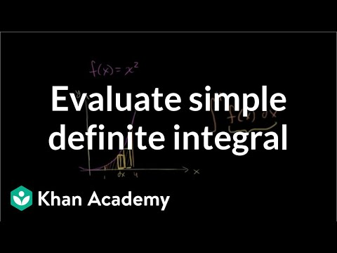 how to solve indefinite integrals for area