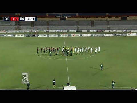 Cosenza-Trapani 2-1, la sintesi della partita