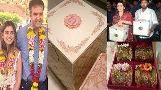 World Most Expensive Wedding Invitation Cards | Mukesh Ambani Daughter Isha Ambani & Anand Piramal