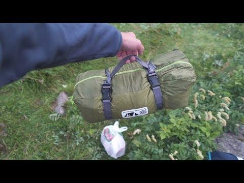 recensione nuova tenda e attrezzatura outdoor