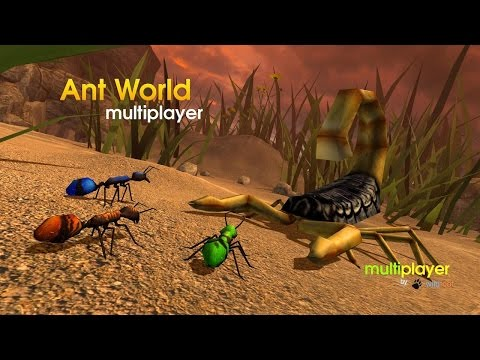 🐜👍Ant World Multiplayer-Муравьиный симулятор-By Wild Foot Games Simulation - Android