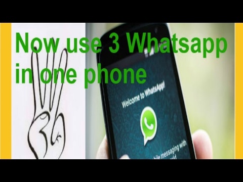 How To Use 3 Whatsapp In Your Android Phone