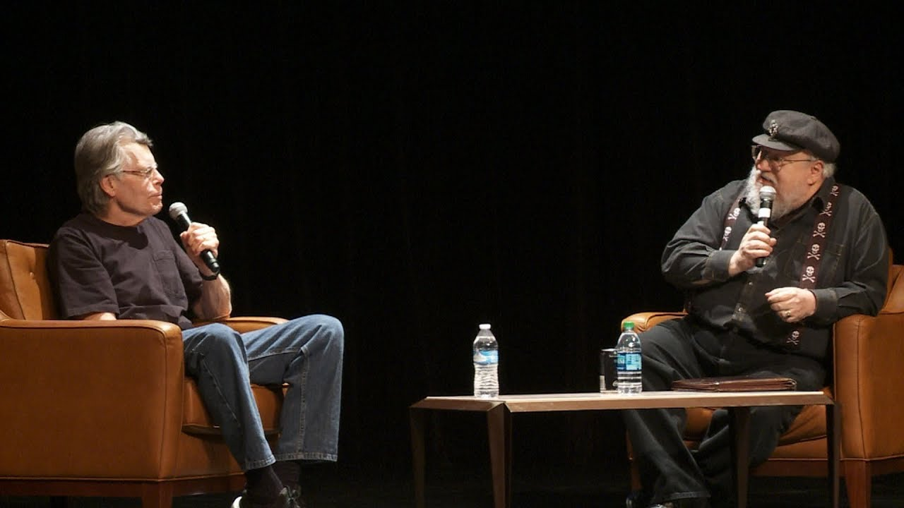 "George RR Martin asks Stephen King: ""How do you write so Fast?!"""