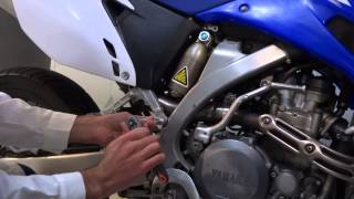 9. AXIIS - WR 450F & WR 250F Passenger Foot Pegs Installation