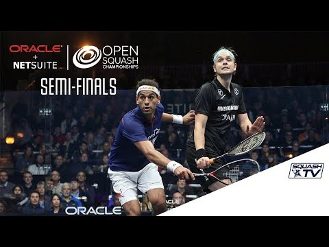 Squash: Semi-Final Roundup Pt. 2 - Oracle NetSuite Open 2017