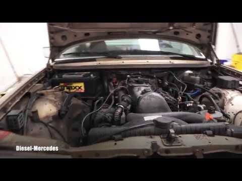 Mercedes-Benz W123 Starter Replacement