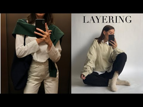 HOW TO LAYER   20 Styling Tips For Layering in Transeasonal Weather