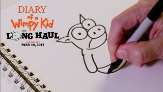 Diary of a Wimpy Kid: The Long Haul | How to Draw: The Pig | 20th Century FOX