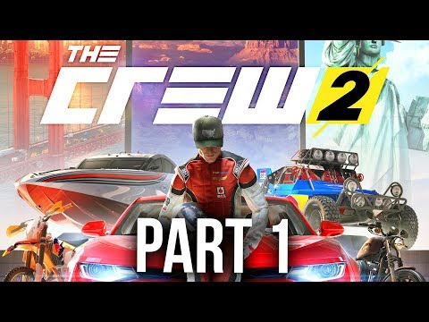 The Crew 2 Early Gameplay Walkthrough Part 1 - STREET RACING (видео)