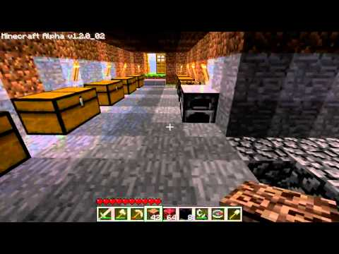 Very Strange House in Minecraft That I Did NOT Build...