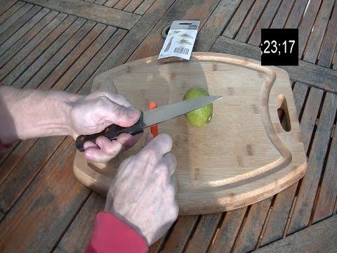 Come affilare un vecchio coltello in 35 secondi