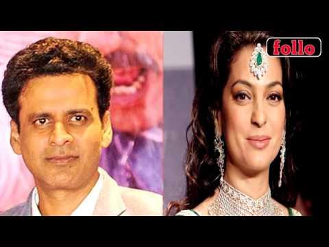 All Is Not Well Between Juhi Chawla And Manoj Bajpai!