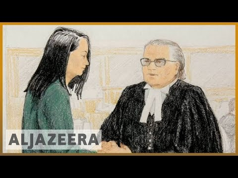 🇨🇦🇨🇳Huawei CFO proposes electronic monitoring, bail hearing adjourned | Al Jazeera English