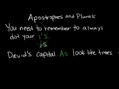 apostrophes and plurals video khan academy - Plural Of Christmas
