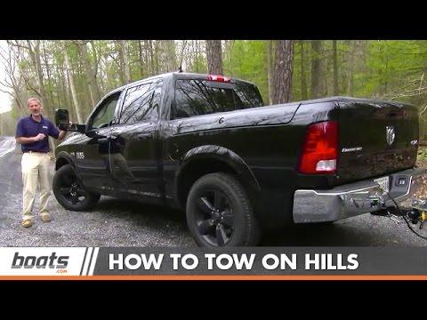 Towing in Mountainous Terrain - Hills Make it Harder (видео)