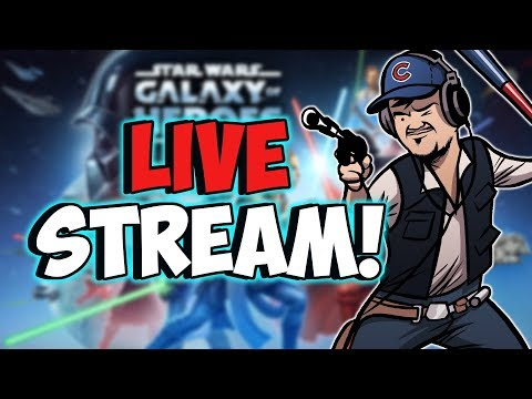 SWGOH Live Stream! | Test Account Requests | Star Wars: Galaxy of Heroes