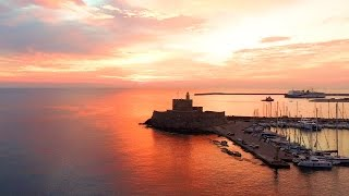Amazing aerial VIDEO from Rhodes