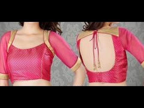 Video Princess Cut Blouse Back Side Hooks Cutting Tutorial (प्रिंसेज कट ब्लाउस ) download in MP3, 3GP, MP4, WEBM, AVI, FLV January 2017