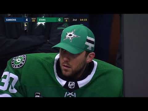 Video: Vancouver Canucks vs Dallas Stars | NHL | Feb-11-2018 | 17:00 EST