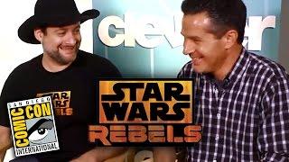 Star Wars Rebels Details From Simon Kinberg & David Filoni  - Comic Con 2014