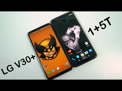 OnePlus 5t vs LG V30+ Speed Test, Memory Management test and Benchmark Scores