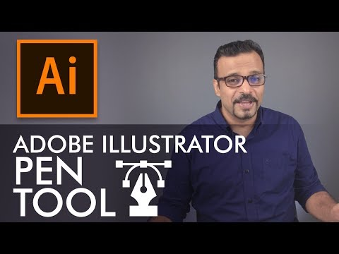 Adobe Illustrator Training - Class 3 - Pen Tool Urdu / Hindi