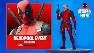 The DEADPOOL EVENT is HERE in Fortnite..