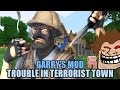 ¿TRAICION EN MINECRAFT? | GARRY'S MOD (TROUBLE IN TERRORIST TOWN) - Con TOWN, ALKAPONE & BERS