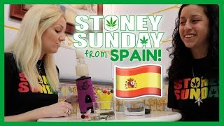 STONEY SUNDAY from SPAIN! | Coral & Xochi at the Hash & Hemp Museum by Coral Reefer