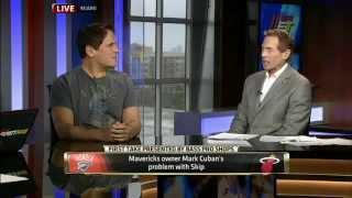 Mark Cuban DESTROYS Skip Bayless