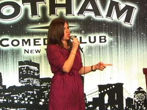 Jaclyn Mullen Stand Up Comic Debut Gotham Comedy Club