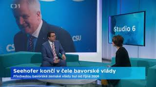 Horst Seehofer končí v čele bavorské vlády