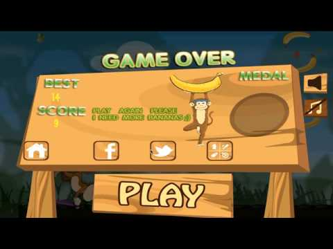Video of Monkey Safari Run-Badland Kong
