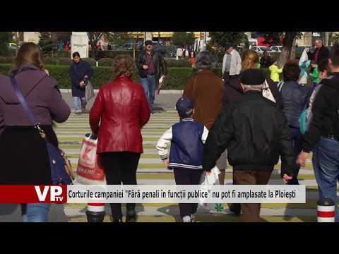 """Corturile campaniei """"Fără penali în funcții publice"""" nu pot fi amplasate la Ploiești"""