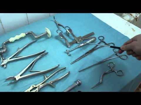 Классификация хирургического инструментария