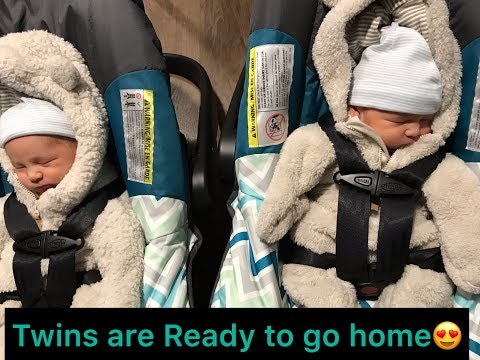 TWINS GOING HOME FROM THE HOSPITAL | Filipina American Couple