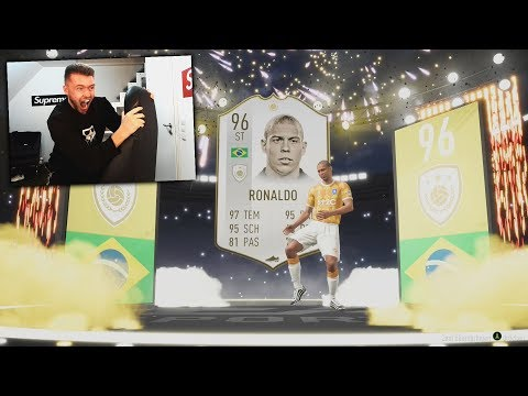 PRIME ICON RONALDO im PACK 😱😱 FIFA 19 PACK OPENING