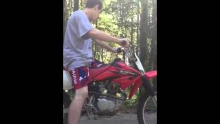 7. 2006 Honda CRF 100F review