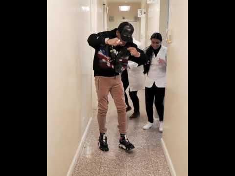 Tekno dance shaku shaku with doctor after treatment