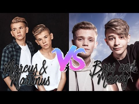 🍍 MARCUS & MARTINUS | VS | BARS AND MELODY ! 🎧