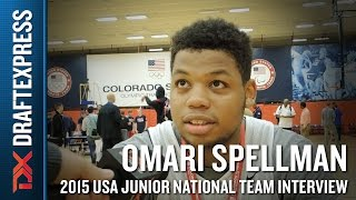 Omari Spellman 2015 USA Basketball Mini-Camp Interview