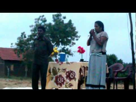 Christian testimony of healing in Tamil. Raw footage.