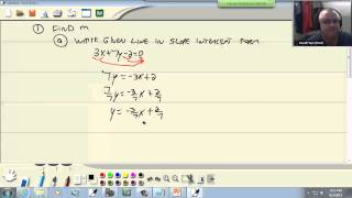 College Algebra: More on Slope