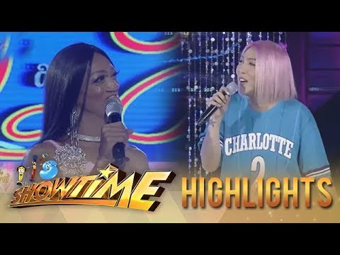 It's Showtime Miss Q and A:  Vice Ganda is happy about the love life of the candidate