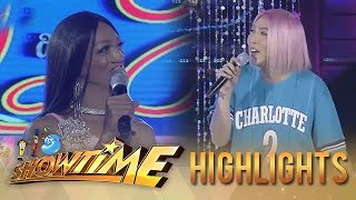 Video It's Showtime Miss Q & A:  Vice Ganda is happy about the love life of the candidate MP3, 3GP, MP4, WEBM, AVI, FLV Desember 2018