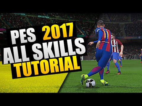"PES 2017 - ""All New Skills"" Tutorial by Weedens"