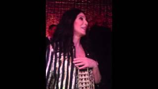 Cher @ Rasputin In West Hollywood 7/27/2013