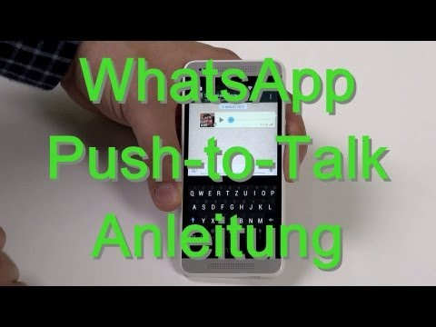 WhatsApp: Push-to-Talk-Funktion – Anleitung – Android & iPhone – androidnext.de