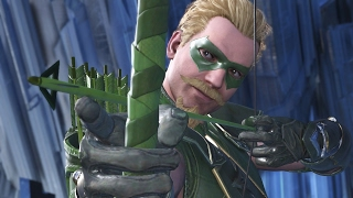 Lanterna Verde contro Freccia Verde