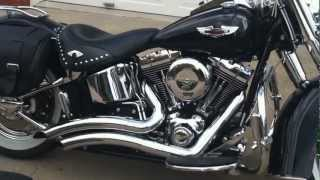 9. Start up and Rev of 07 Harley Softail Deluxe